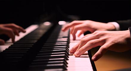 ピアノ部門の写真